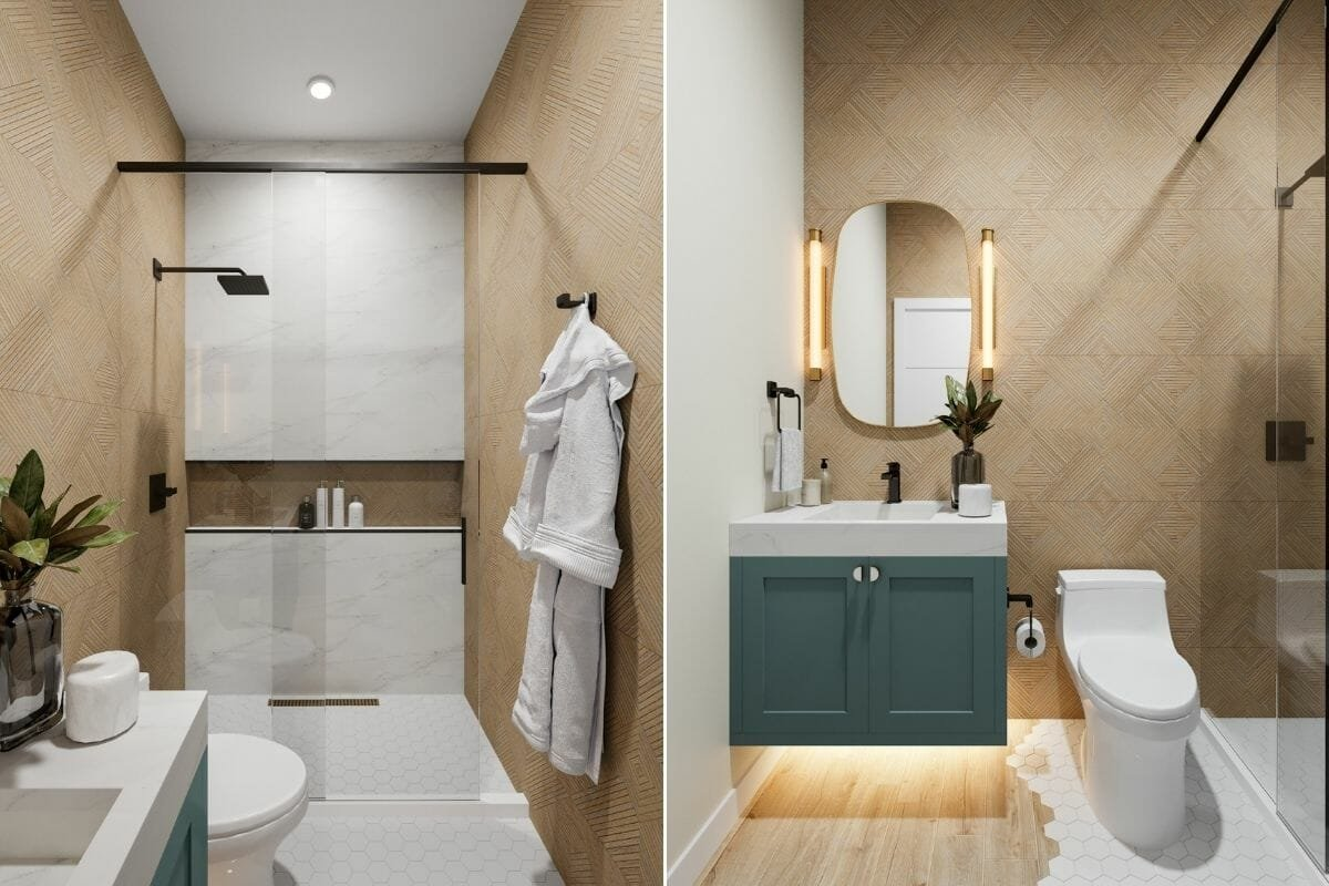 Bathroom tile trends 2022 - Betsy M.