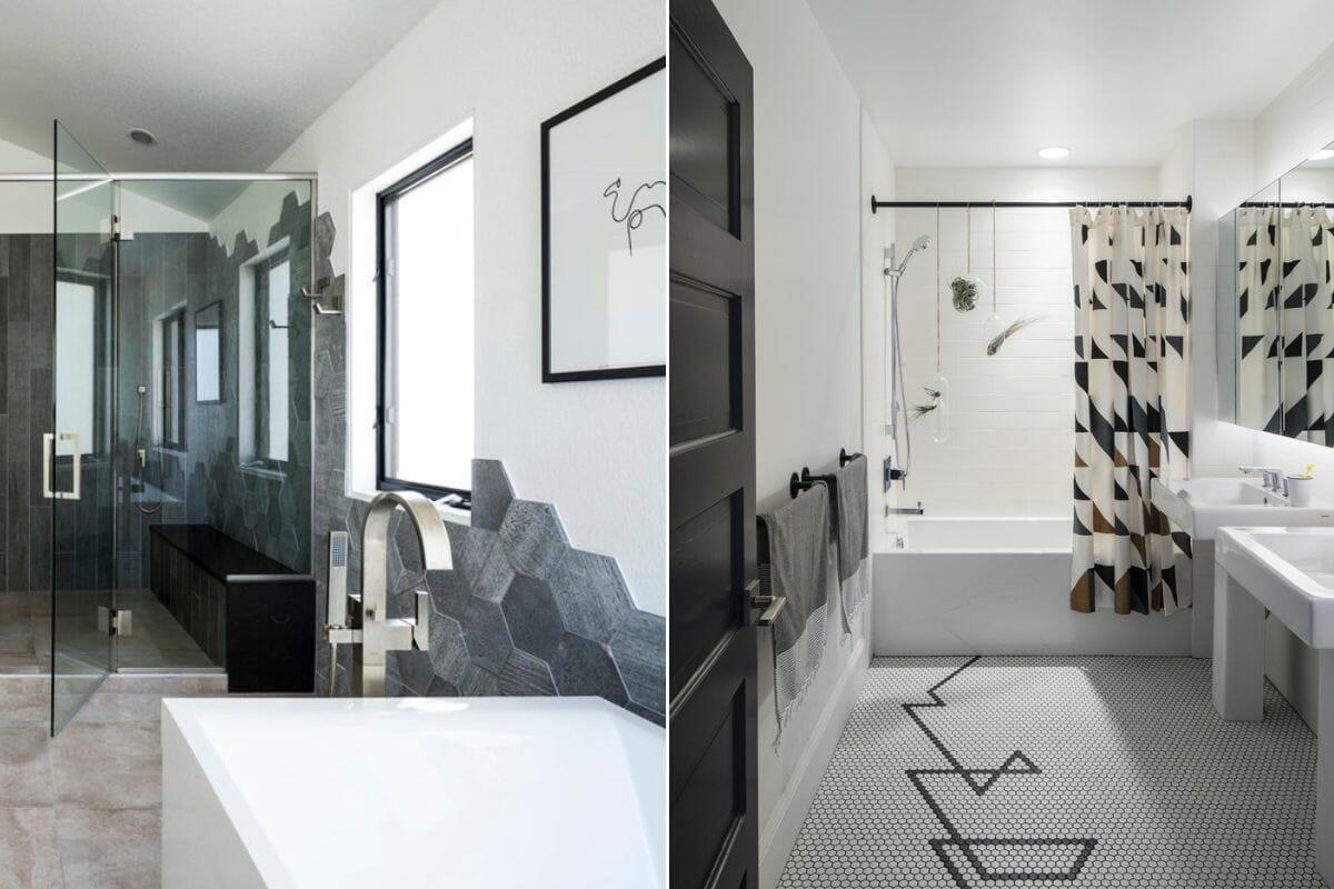 Bathroom tile trends 2022 - Hexagon