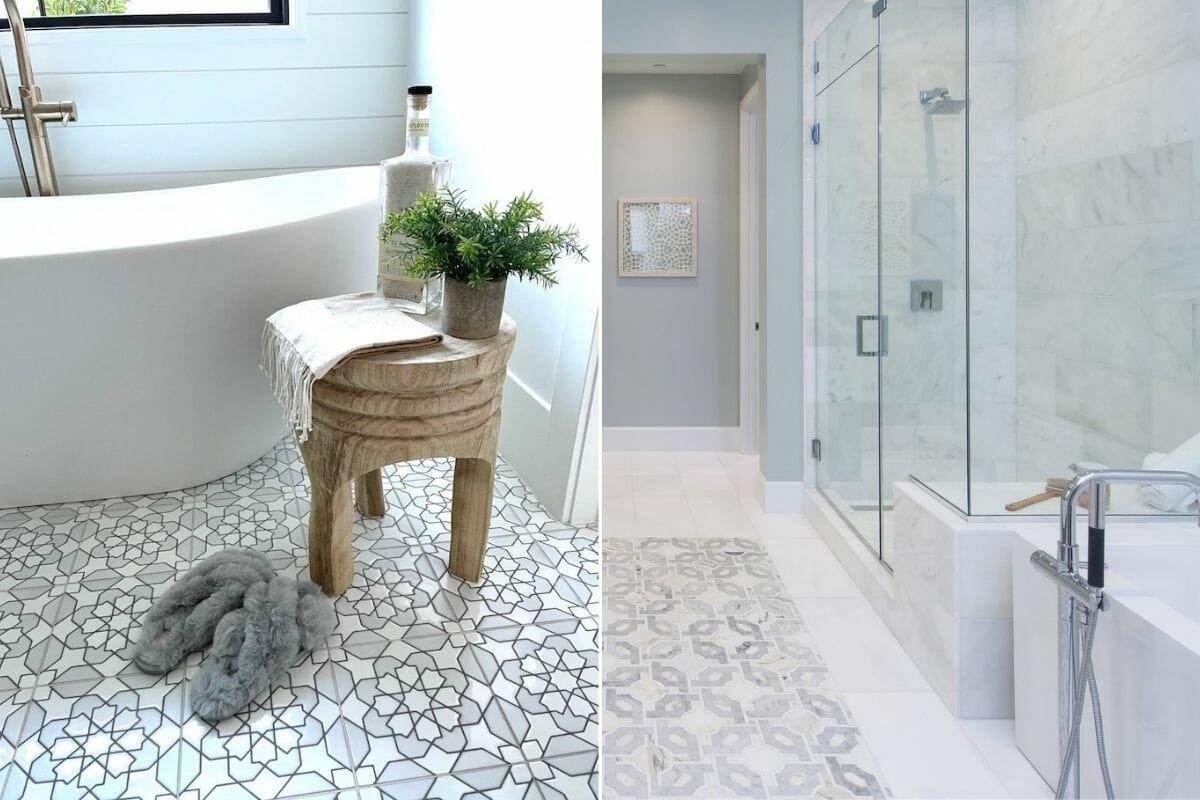 Bathroom tile trends 2022