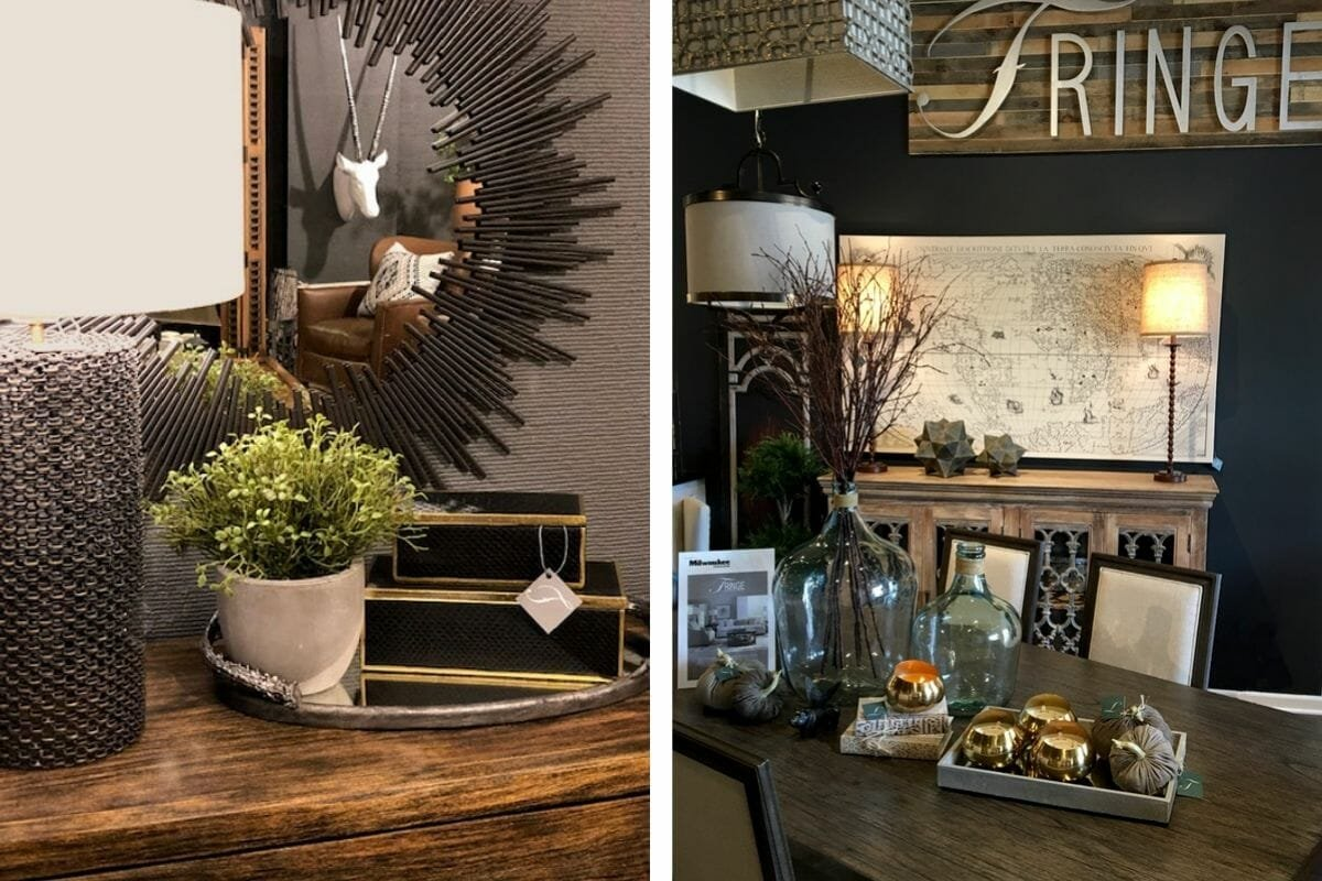 Chic home decor by one of the top interior designers in Milwaukee