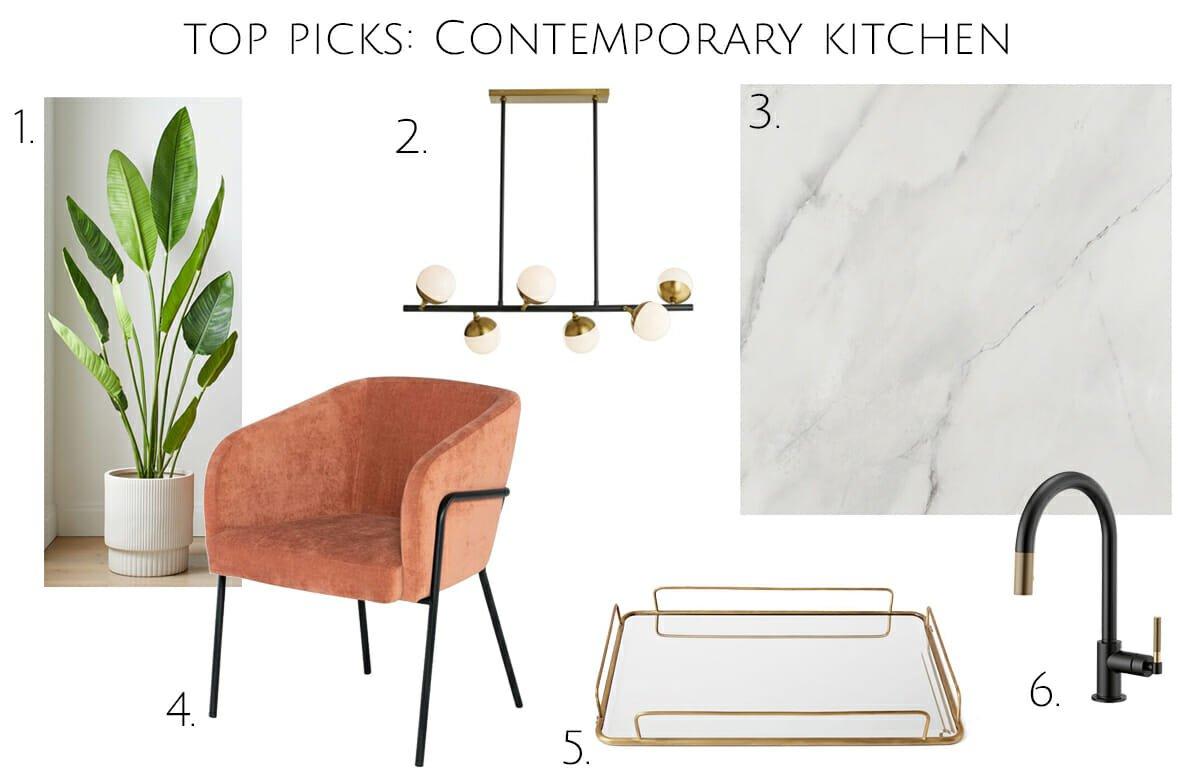 Contemporary kitchen design top picks