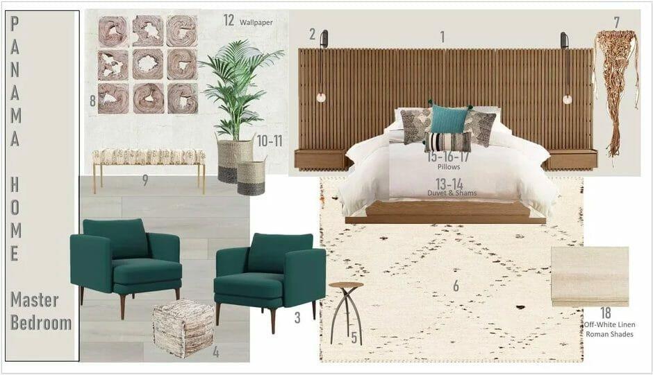 Decorilla online interior design services moodboard