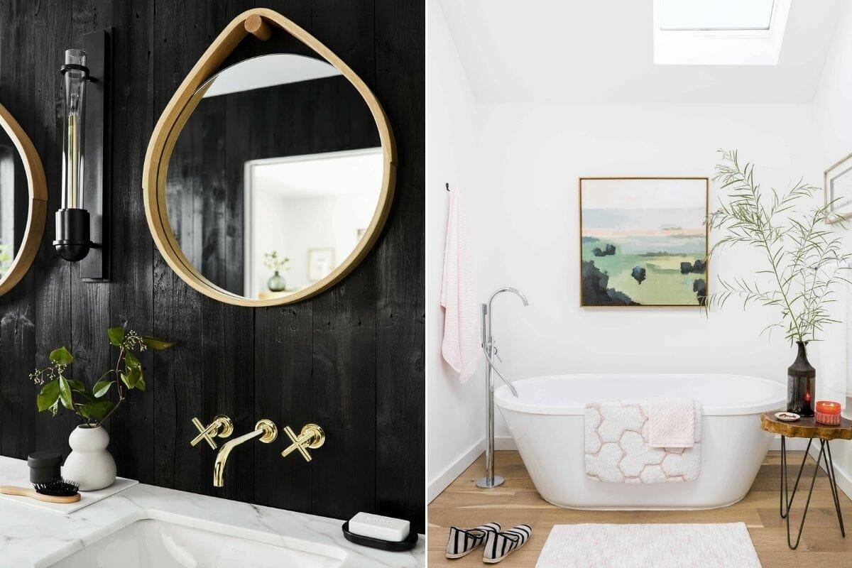 Emily Henderson bathrooms interior