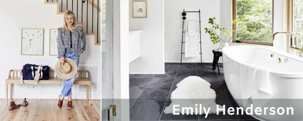 Emily Henderson bathrooms