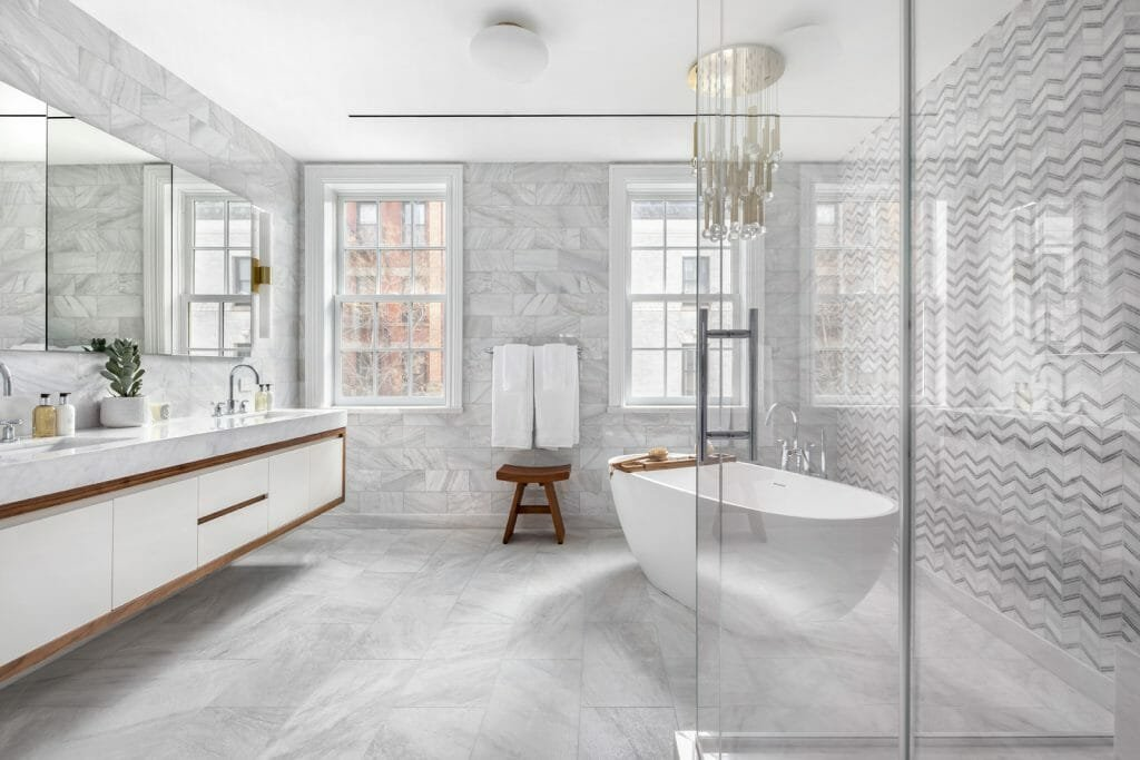Glam interior design - Elliman