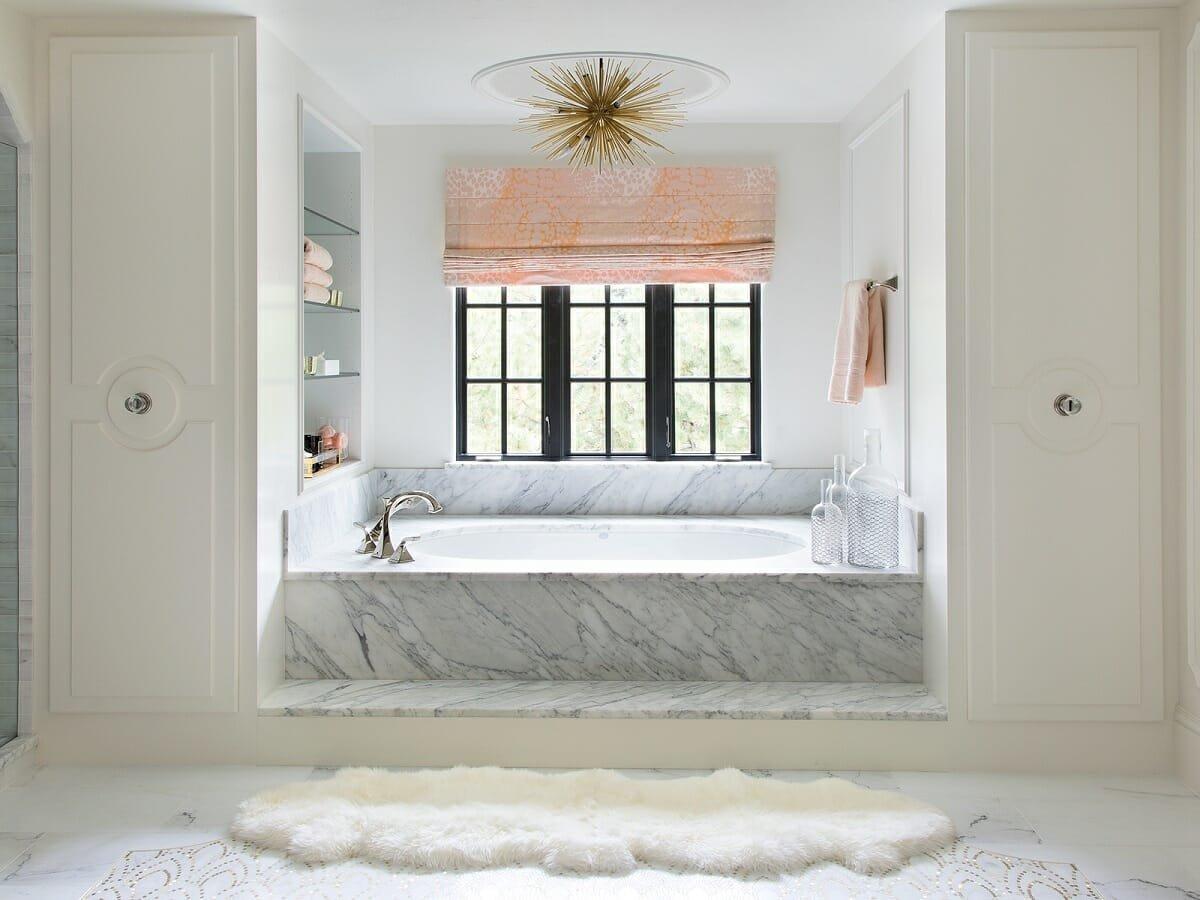 Glamorous bathroom ideas - Andrea