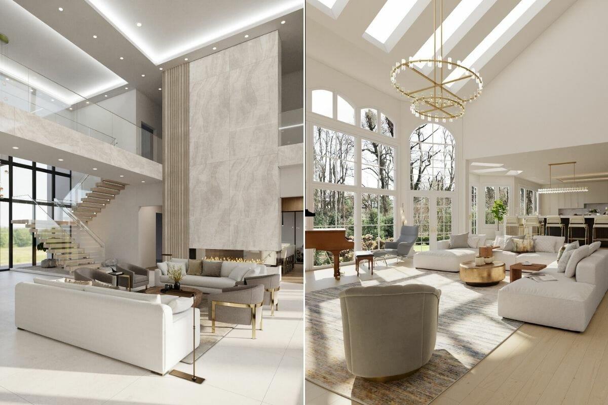 Glamorous room ideas - Laura A & Sonia C