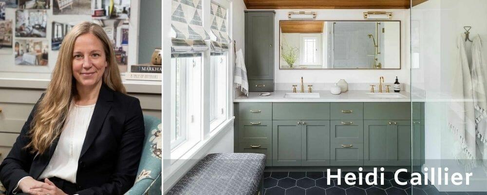 Heidi Caillier bathroom interior