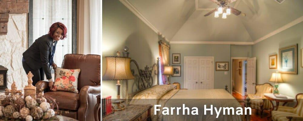 Interior decorators Fort Worth Farrha Hyman