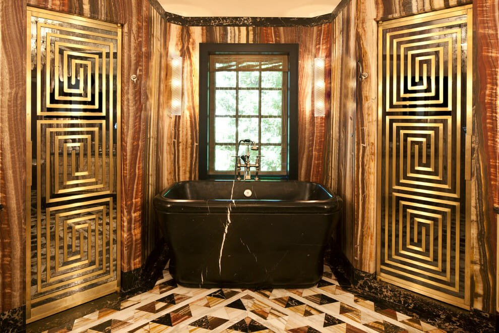 Kelly Wearstler bathroom interior decoration