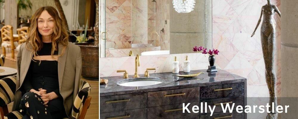 Kelly Wearstler bathroom interior