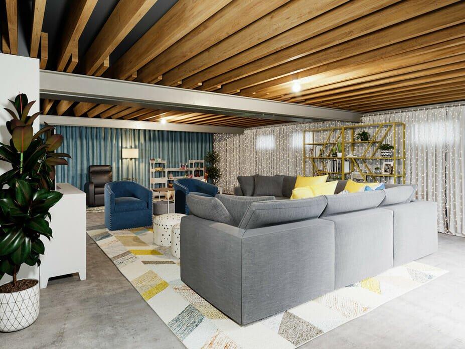 Luxurious basement design ideas - Farzaneh K