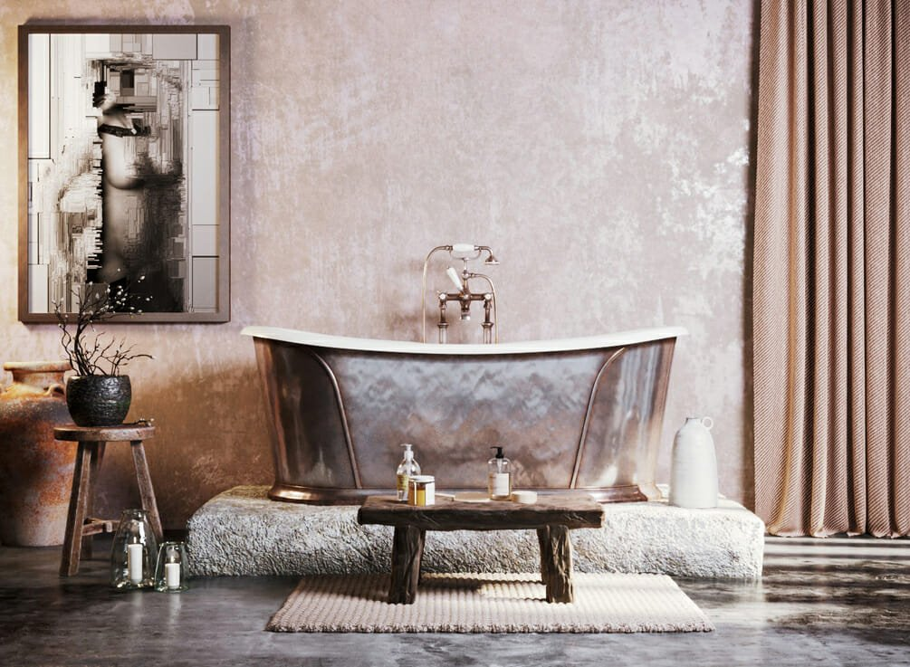 Luxury bathroom interior designers - Rehan A