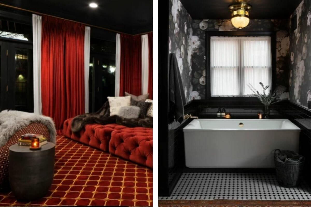 Luxury decor by one of the top Milwaukee interior designers, Kelly Brainerd