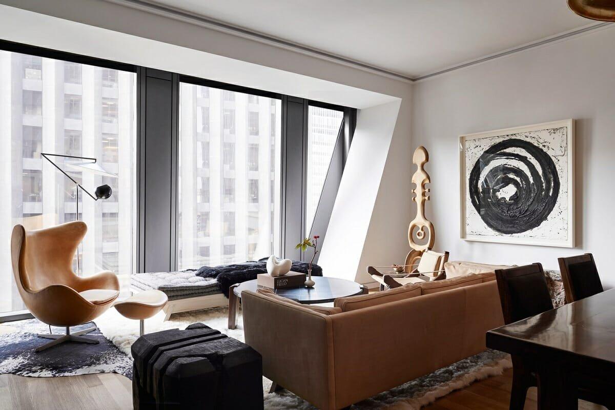 Masculine apartment decor - AD