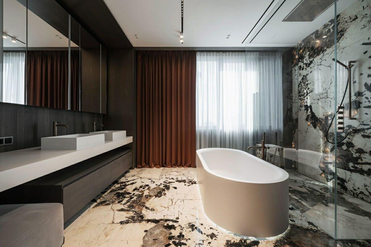 Masculine bathroom ideas - Yodezeen
