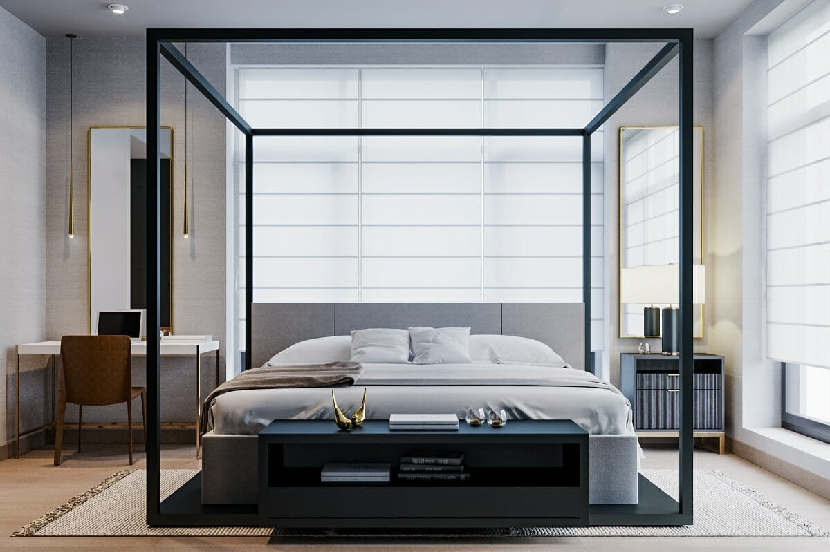 Masculine bedroom ideas - Maden C.