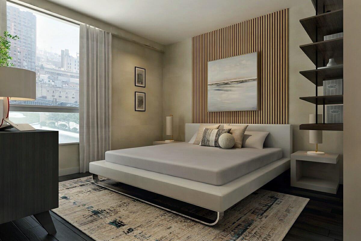 Masculine decor ideas for a bedroom - Ibrahim H