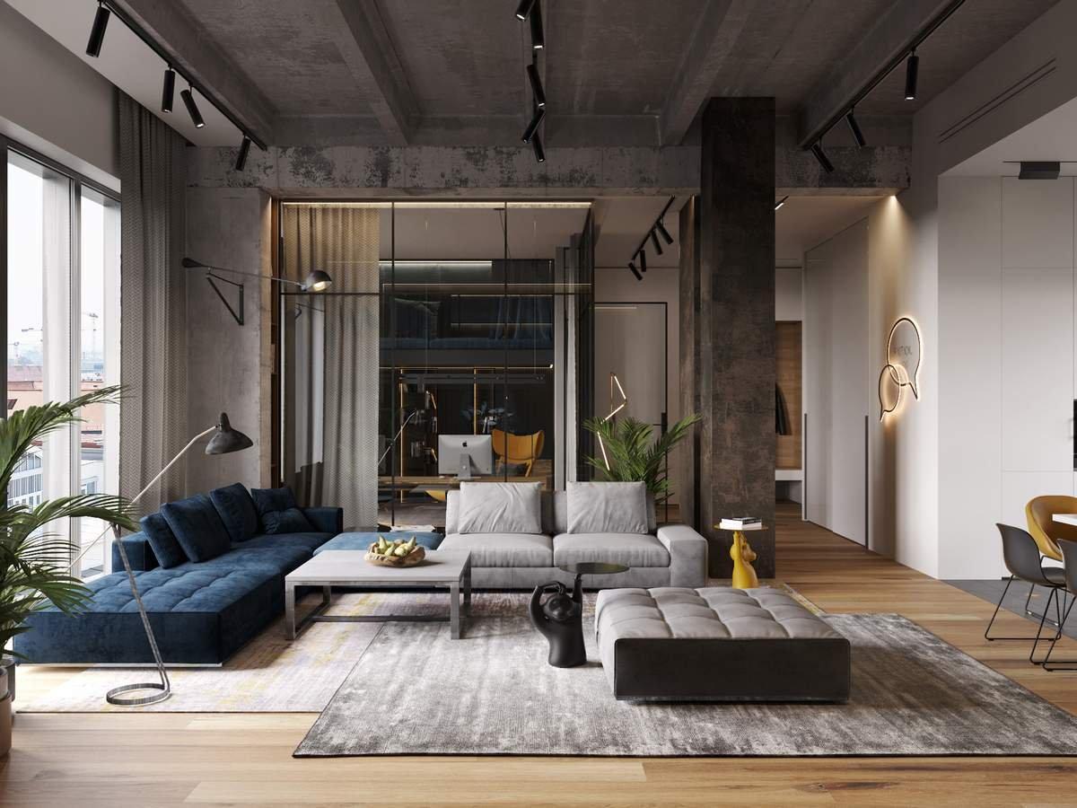 Masculine interiors - Design TV