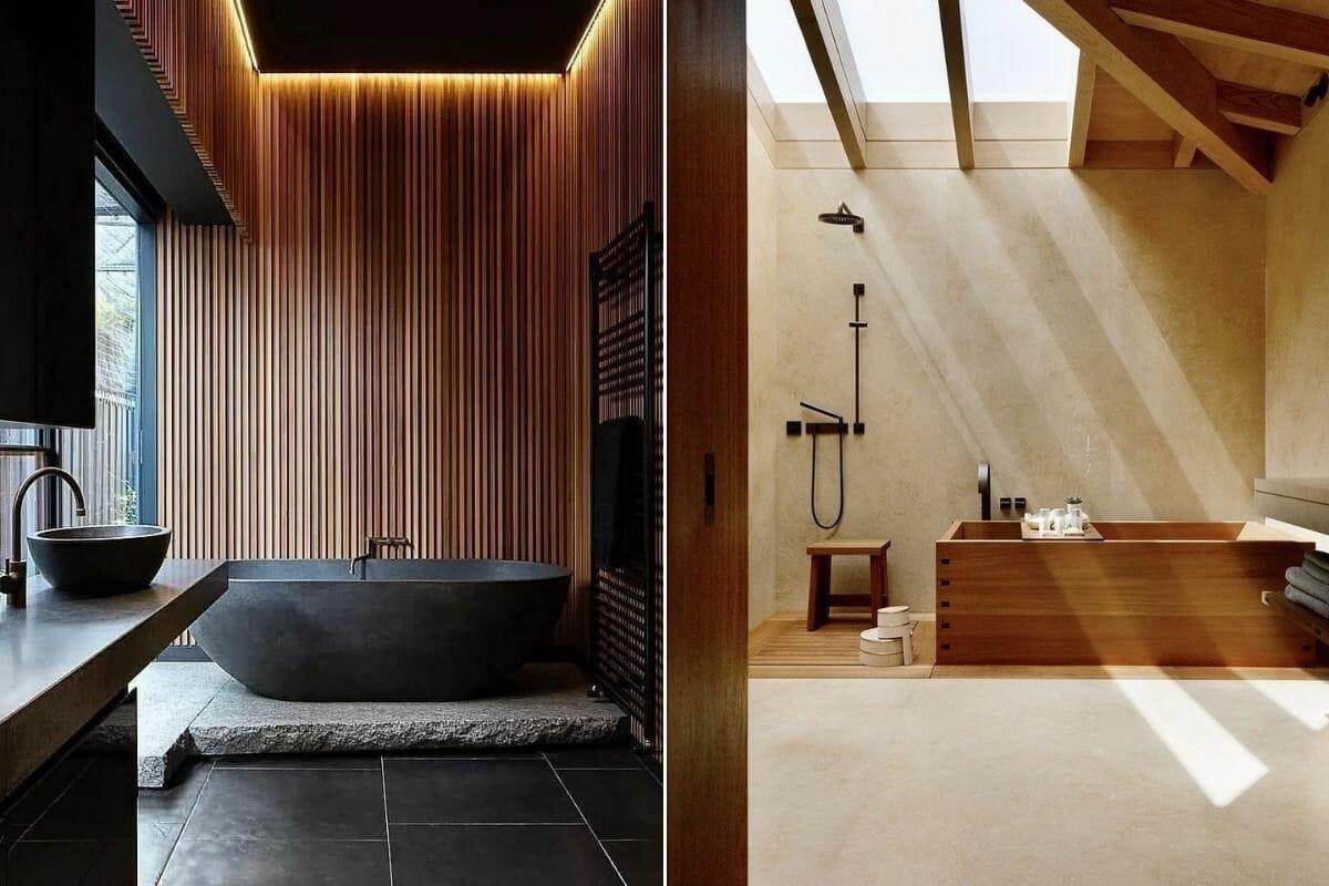 Master bathroom trends 2022 - Zen