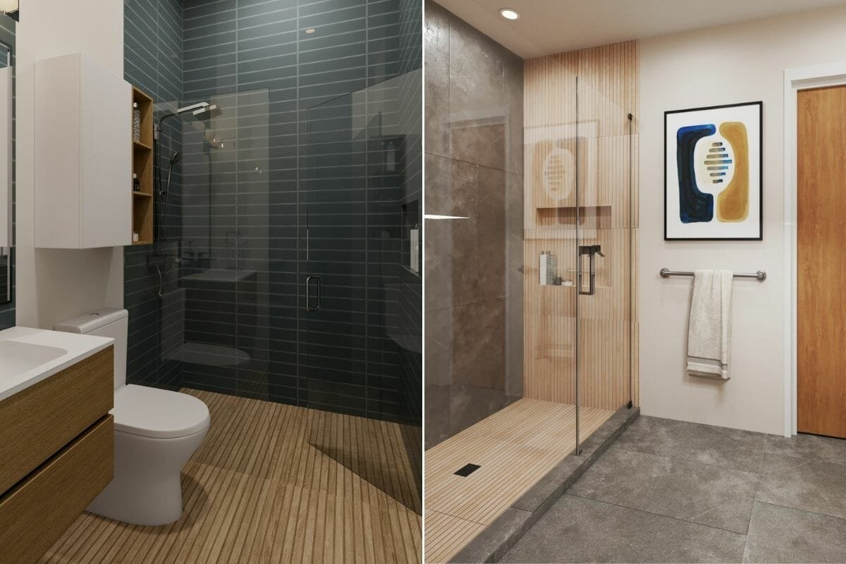 Small bathroom tile trends 2022 - Wanda