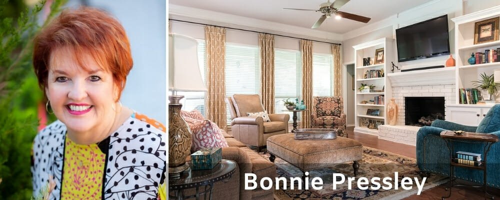 Top Fort Worth interior designers Bonnie Pressley