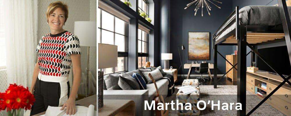 Top Minneapolis interior designers Martha O'Hara