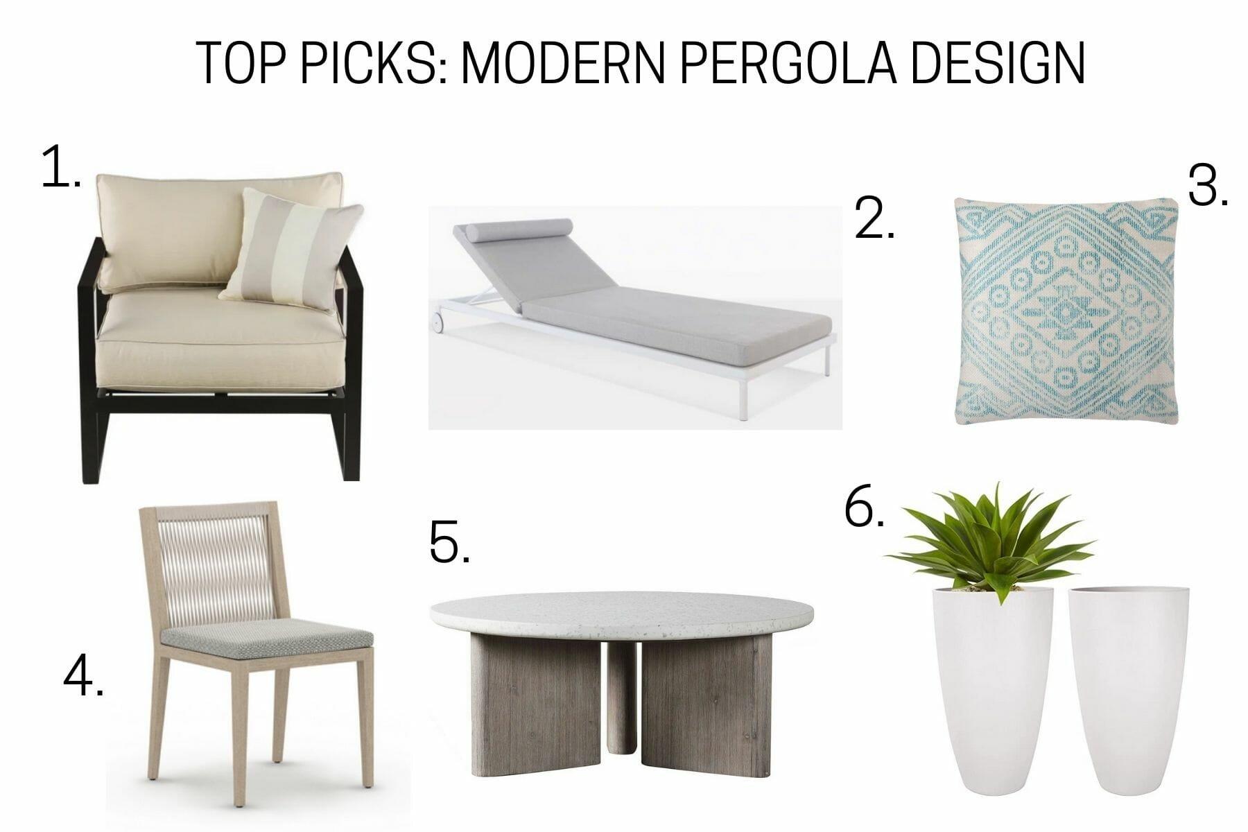 Top picks for poolside patio decor