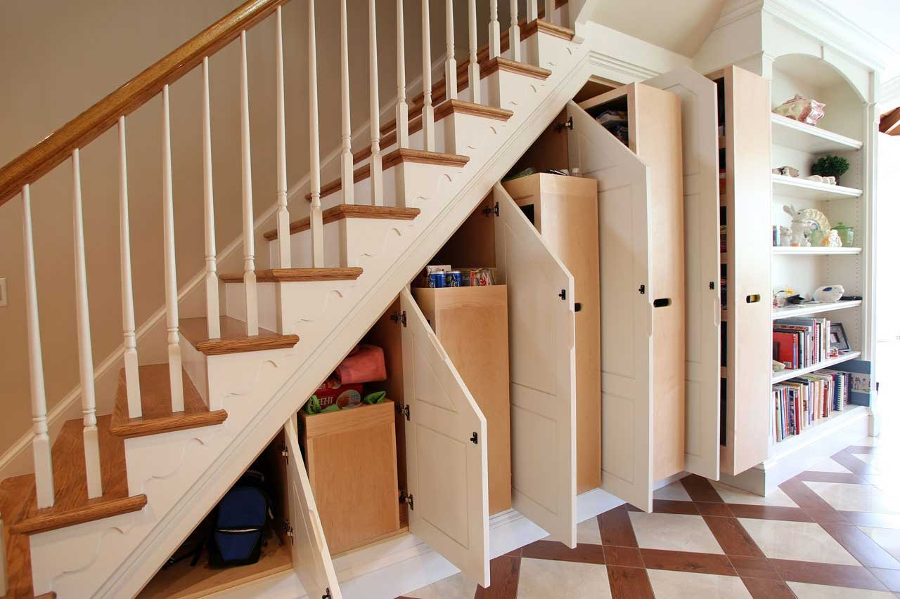 Under the stairs creative storage solutions for small spaces