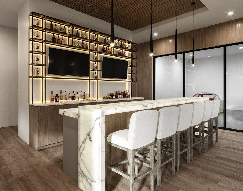 basement designs with bar - Wanda P
