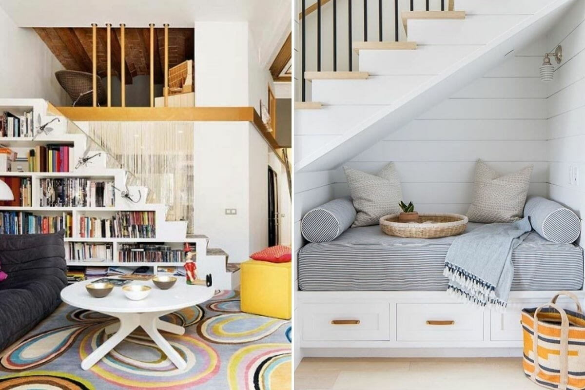 under the stairs creative storage ideas for small spaces