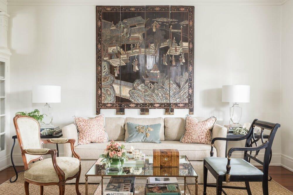 Artistic New Orleans interior design