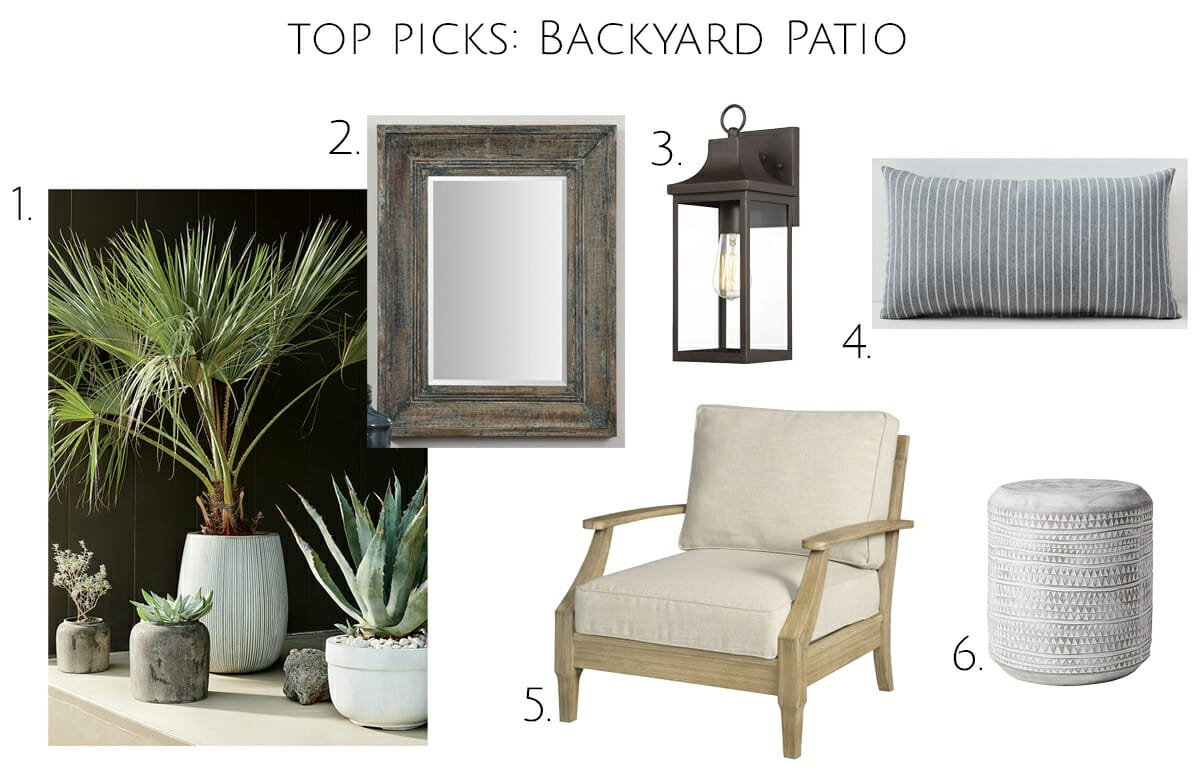 Backyard patio design ideas top picks