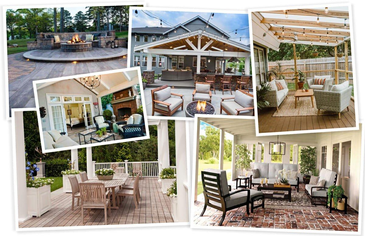 Backyard patio design inspiration