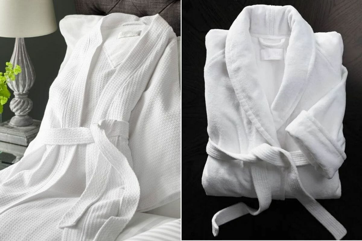 Bath robes as housewarming gifts for couples