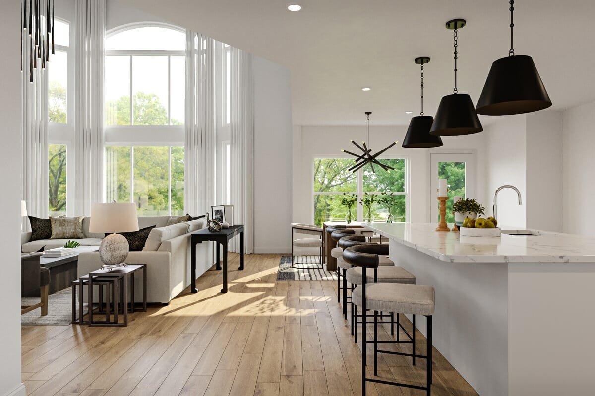 Clean kitchen countertop trends - Berkeley H