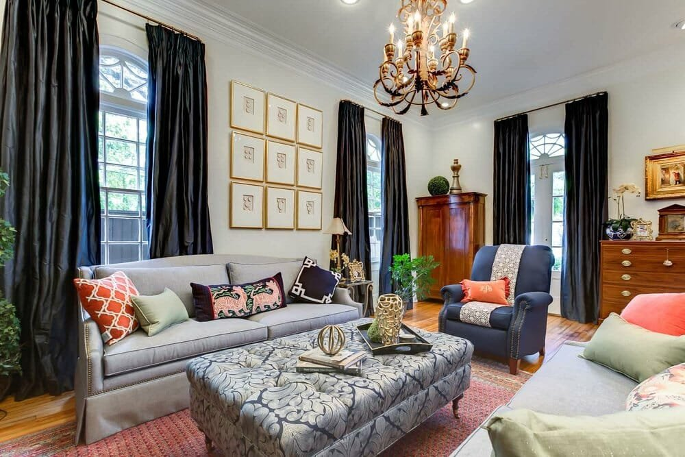 Eclectic New Orleans interior design