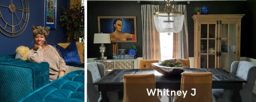 Eclectic dining room by one of the top interior decorators New Orleans