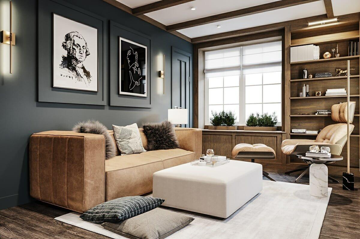 Fall decor ideas for a living room - Mladen