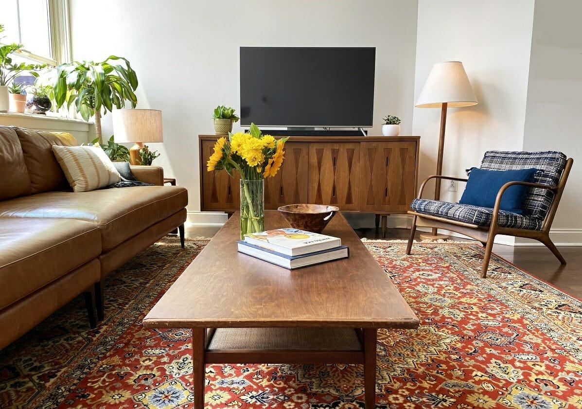 Fall decor ideas for the living room - Amy C
