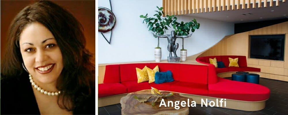 Interior designers near me Angela Nolfi
