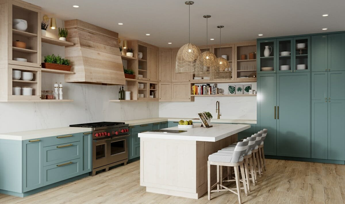 Kitchen cabinet color trends 2022 - Betsy M