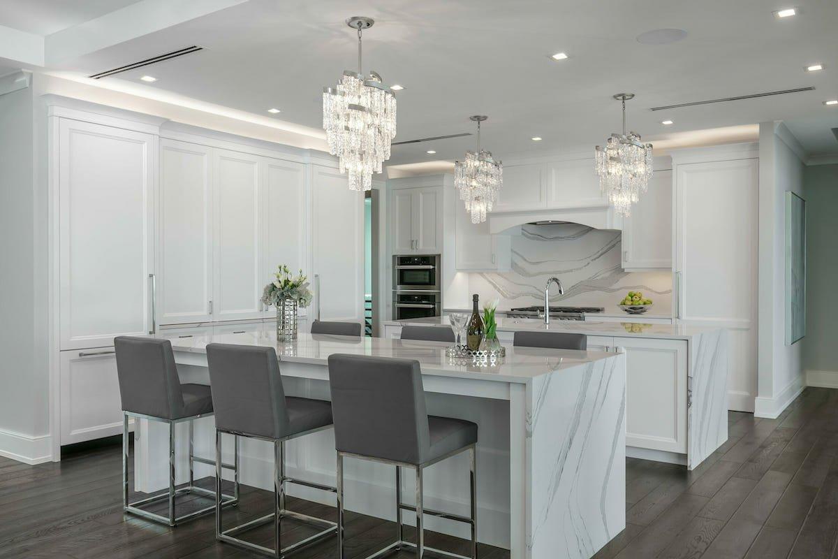 Luxe kitchen by Decorilla New Orleans Interior Design
