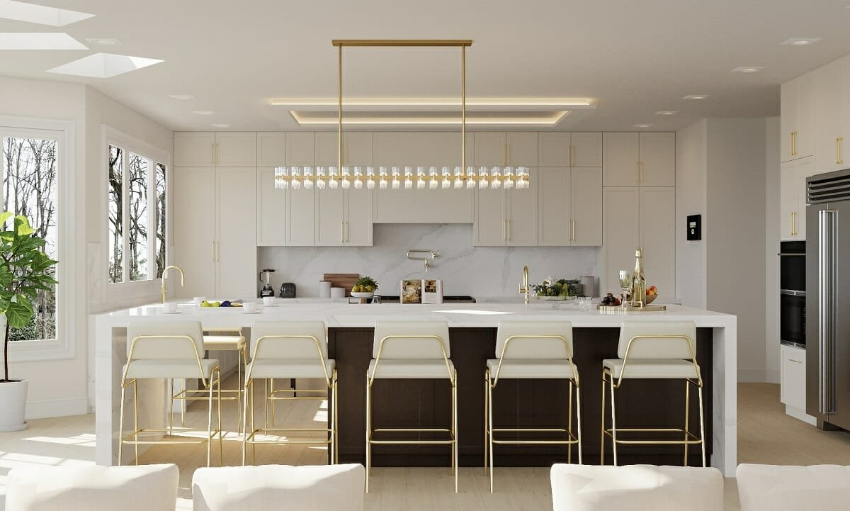Luxe kitchen cabinet colors 2022 - Sonia C