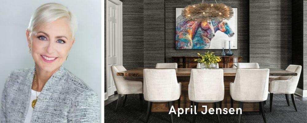 Luxurious dining room interior design St. Louis