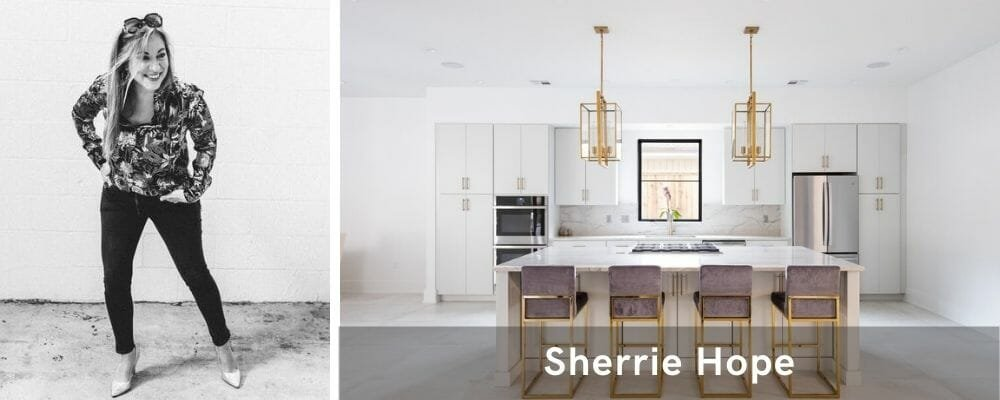 Luxury kitchen by one of the top New Orleans interior designers, Sherrie Hope