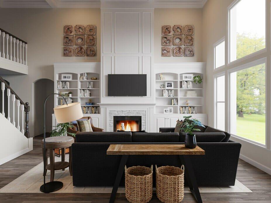 Masculine interior design ideas