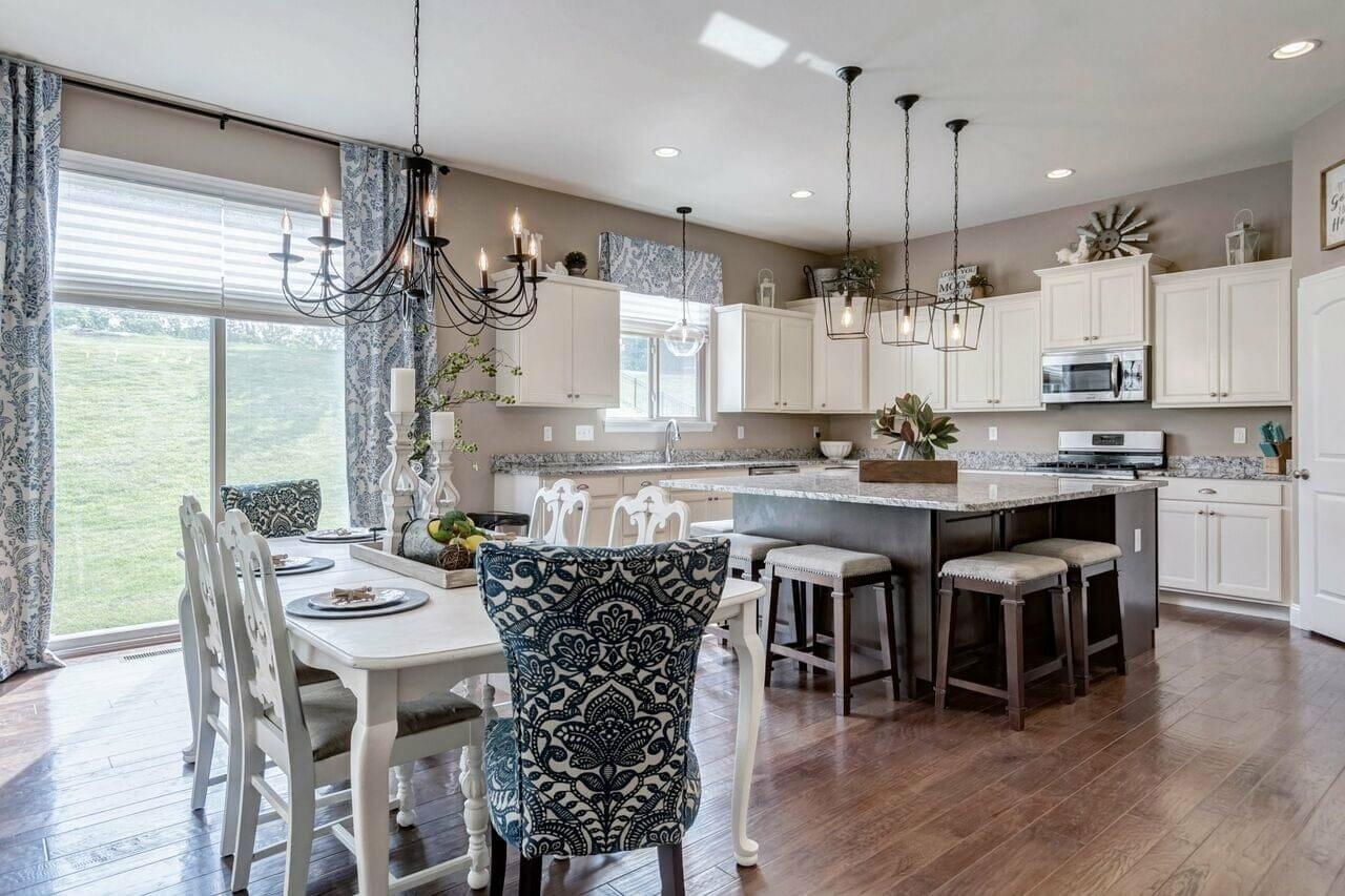 Modern kitchen design by top interior decorator St. Louis