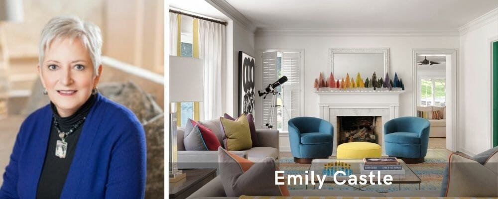 Modern living room by one of the top St. Louis interior designers