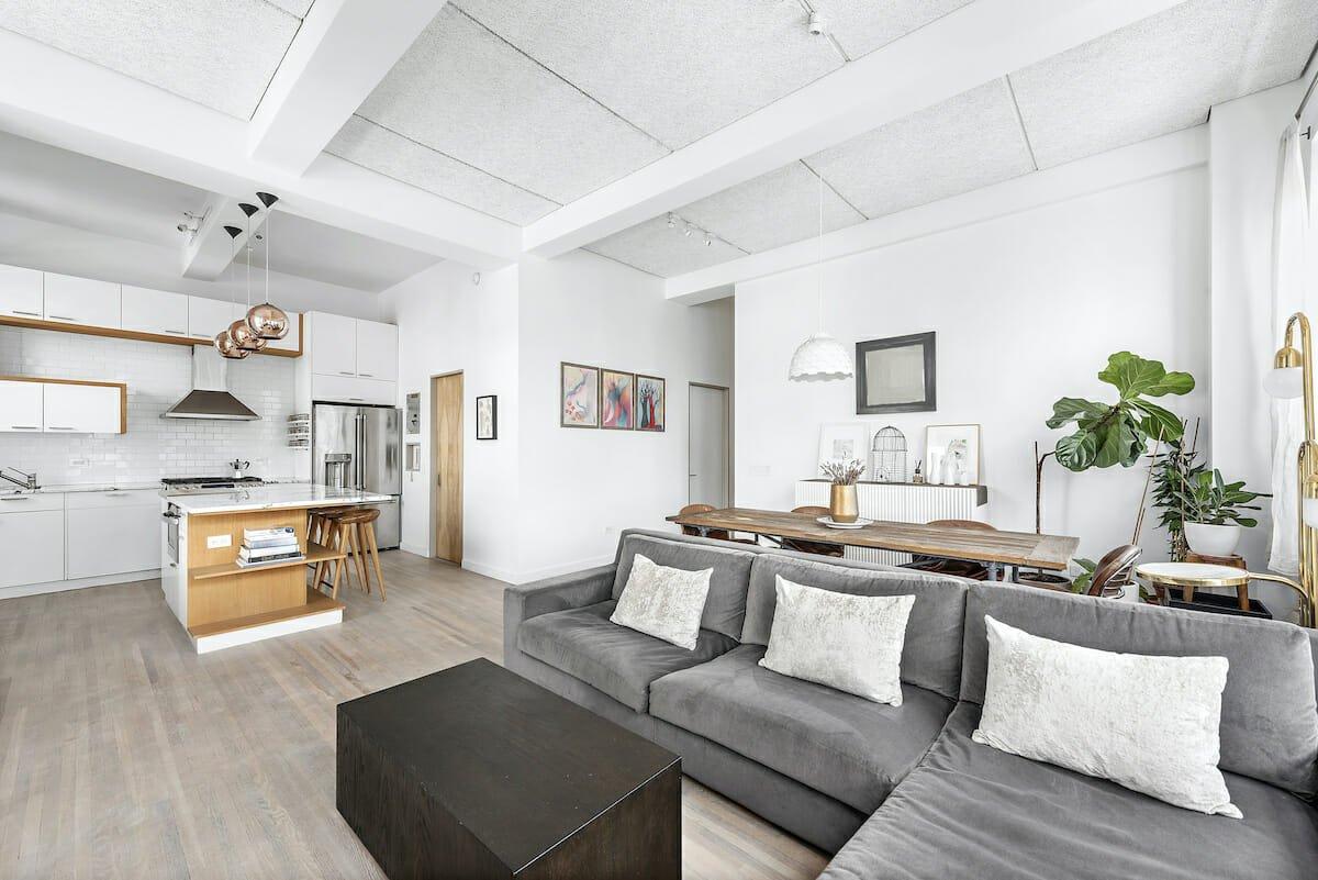 Open concept living can increase home value - Sara M